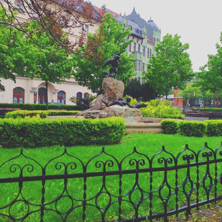 Old town in Bratislava, Slovakia