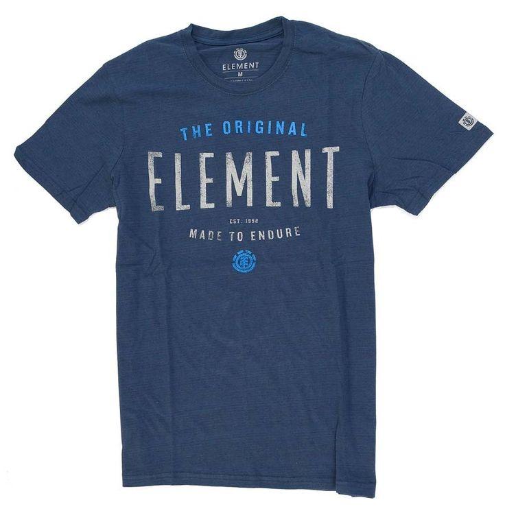 T-Shirt Element BUILT Dark Denim