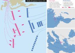 Battle of Lepanto - Wikipedia, the free encyclopedia