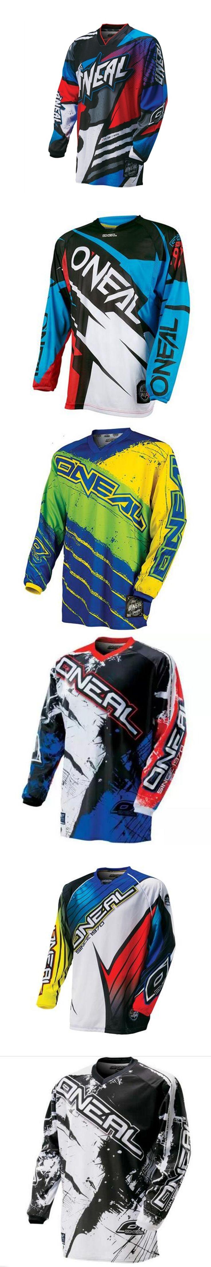 2017 New Mountain Downhill Bike Racing Off-road Motocross Jersey Men Long Sleeve Cycling Jersey Motorbike Shirts Clearance Sales
