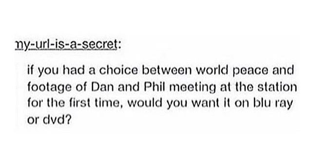 *cough* No obviously I want world peace more... *cough*