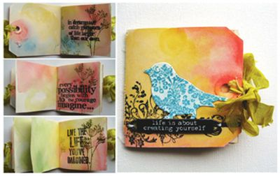 Tim Holtz®Tag Book: Life Is About Creating Yourself
