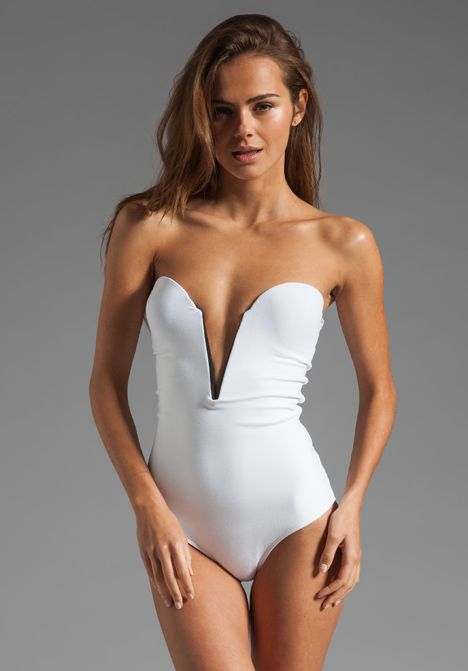 Sweetheart bathingsuit
