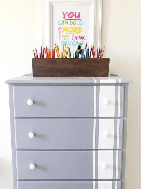 Stripes Make a Solid Statement (on Furniture)