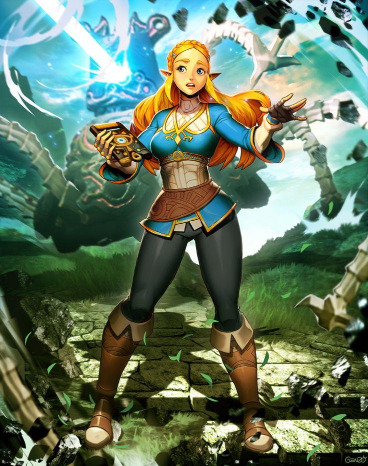 Zelda - Breath of the Wild by GENZOMAN.deviantart.com on @DeviantArt - More at https://pinterest.com/supergirlsart/ #fanart