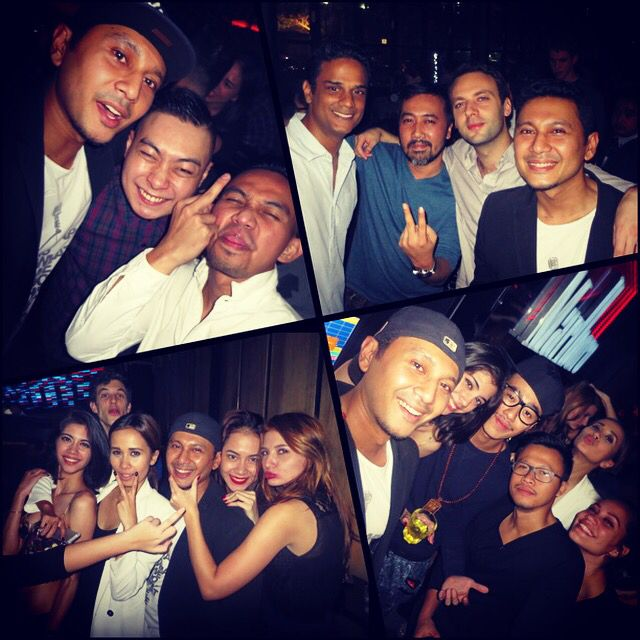 Last nights crazy madness!!! Hide and seek and then @blowfish_jkt... Happy bday @dj_ww!!! What a night