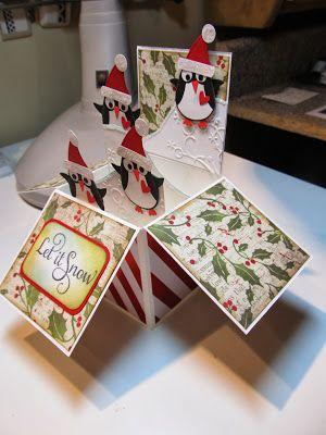 Calla Lily Studio Blog: Card in a Box, penguins
