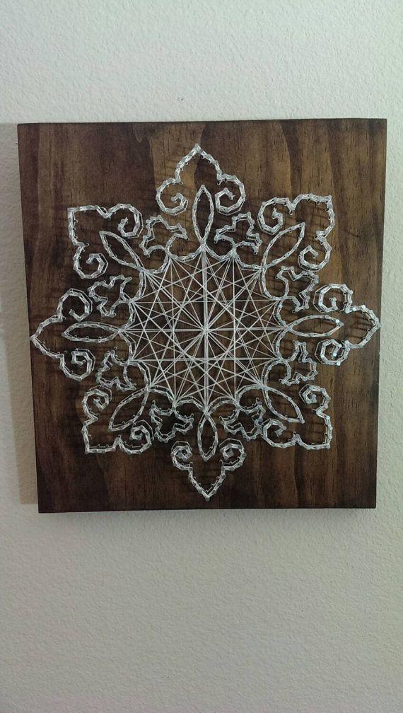 Lace Nail and String Art
