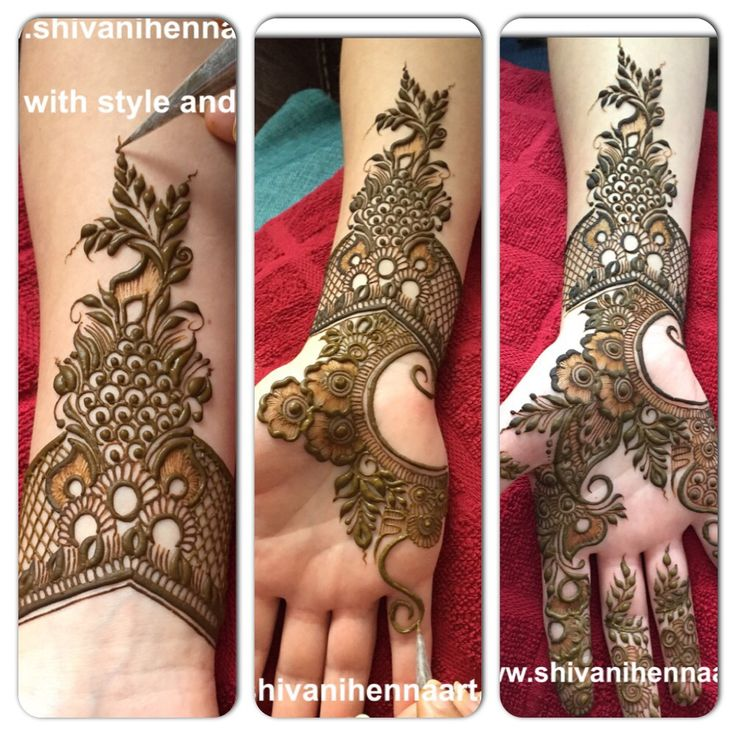 Henna with style and passion !!More Great Ideas! More Pins Like This At FOSTERGINGER @ Pinterest