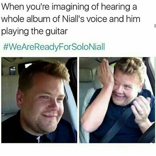 as much as i'm looking forward to the boys coming back! a whole album of Niall is my dream ❤️