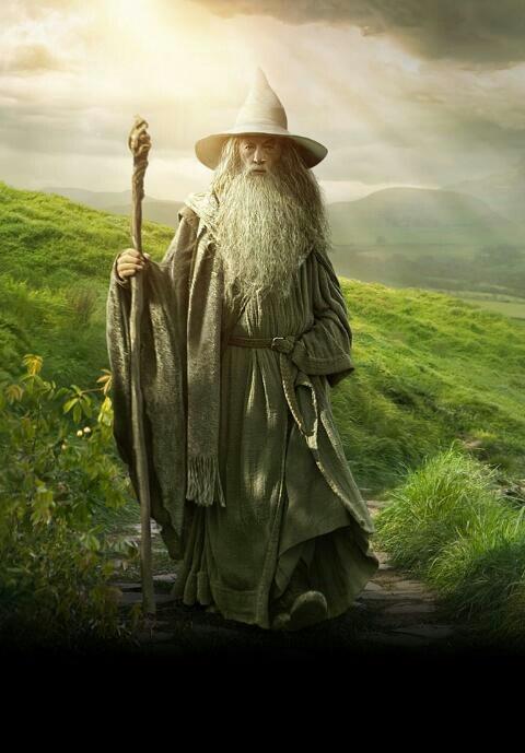 Day 3 - Favorite Character - Gandalf.