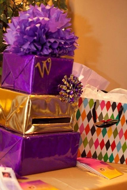 Mom's 50th Purple and Gold | CatchMyParty.com