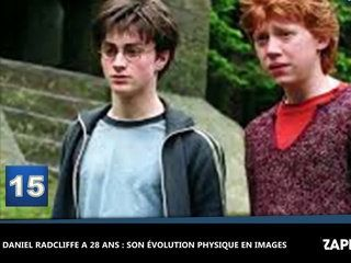 Daniel Radcliffe a 28 ans : son évolution physique en images (Vidéo)