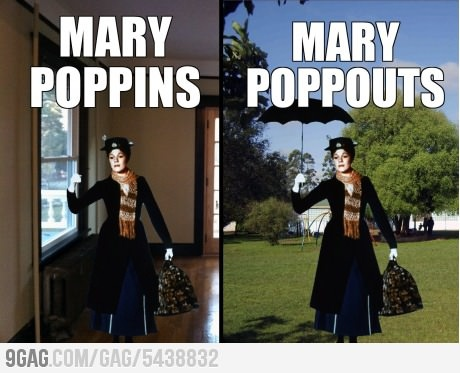 Mary pops everywhere: Mary Poppins, Funny Pictures, Funny Images, Funny Quotes, Funny Stuff, Click, Funny Website, Random Stuff, Comment