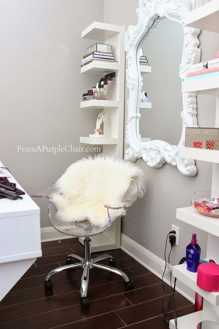 @arabrana Do you like the fur? This is a really popular way to dress up the clear chairs. Yay or nah?