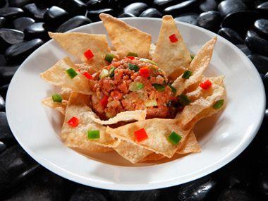 Guacamole, Salsa and Tuna tartar on Pinterest