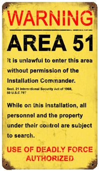 Get as close to Area 51 as legally possible.