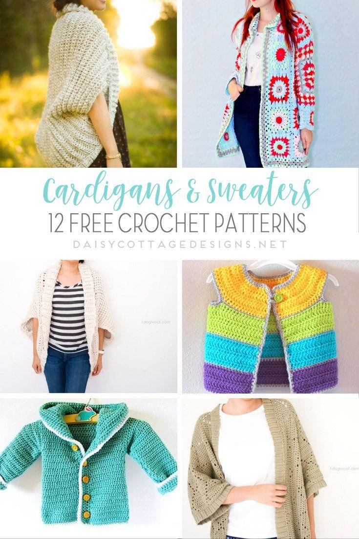 147 best Crochet wearables - Häkelkleidung images on Pinterest ...