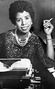 LORRAINE HANSBERRY (1930-1965), being inspired by her family's court room mêlée against racially-segregated Chicago subdivision housing laws in her childhood, wrote a seminal piece of African-American history. Her magnum opus A Raisin in the Sun, bought the civil rights playwright and bestselling author a legion of fans and quickly turned her to a household name.