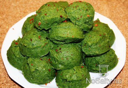 Krumplipüré zöldben