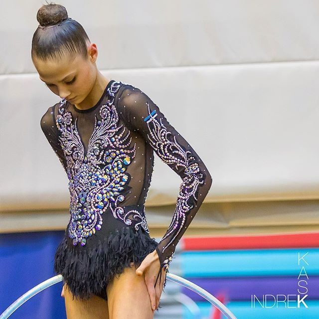 Estonian gymnast Janika Vartlaan #janikavartlaan #rhythmicgymnastics #gymnastics…