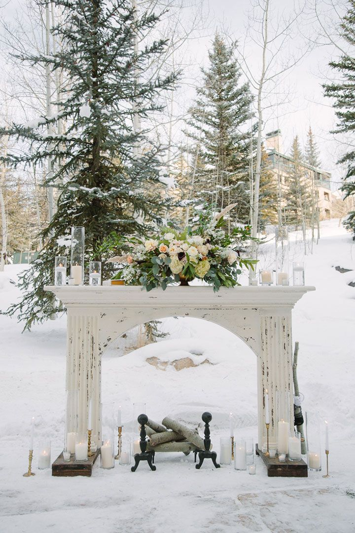Outdoor ceremony at the Park Hyatt Beaver Creek Resort & Spa