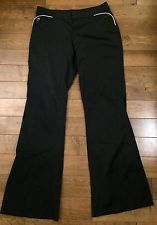 Mexx Women'S Nylon Pant Size 8 Black White   eBay