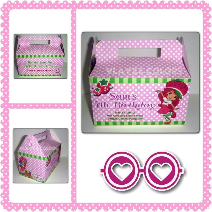 Theme: Strawberry Shortcake