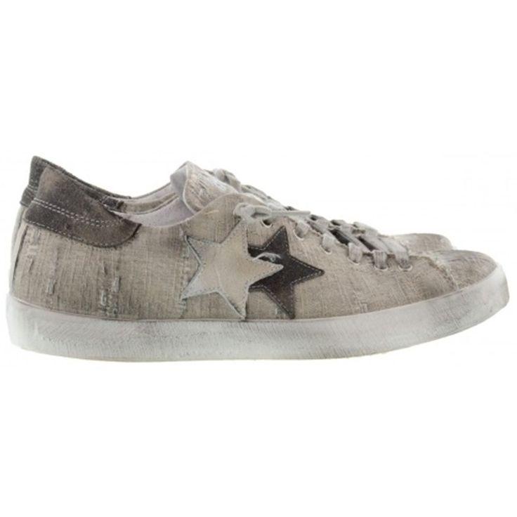 Sneaker uomo 2 star 1013 grigio scarpe spring summer scarpa rubber 44 44 44