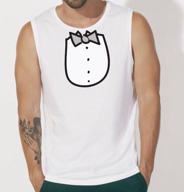 Sleeveless Tee Single Jersey 100% Organic ring-spun Combed Cotton 155 gsm Available with different prints. When ordering you must specify print.