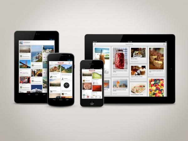 Pinterest revela novos apps para iOS e Android