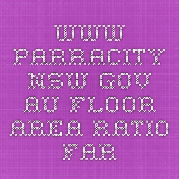 www.parracity.nsw.gov.au Floor Area Ratio FAR