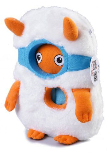 Totoya Creatures YetYet Apple iPad 1/2/3/4 Plush Kids Toy Sleeve (Child Safe Faux-Fur, Zipper Closure, Free Interactive App, Rugged Design, Holding Handle) by Totoya Creatures, http://www.amazon.com/dp/B0087DKO1M/ref=cm_sw_r_pi_dp_IKqbsb00Q37R3