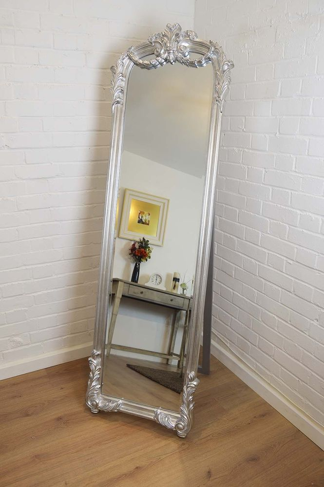 104 best images about mirrors on pinterest floor mirrors for Silver stand up mirror