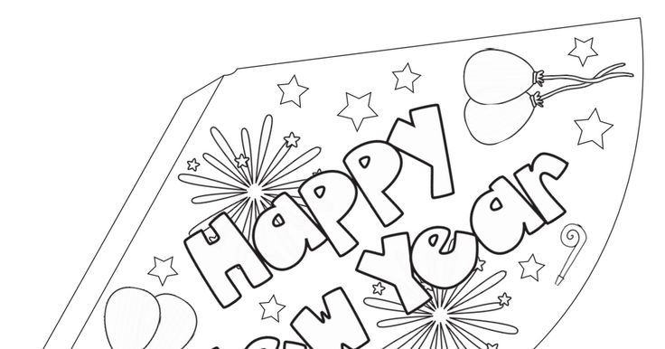 free_New Years Coloring Party Hats.pdf
