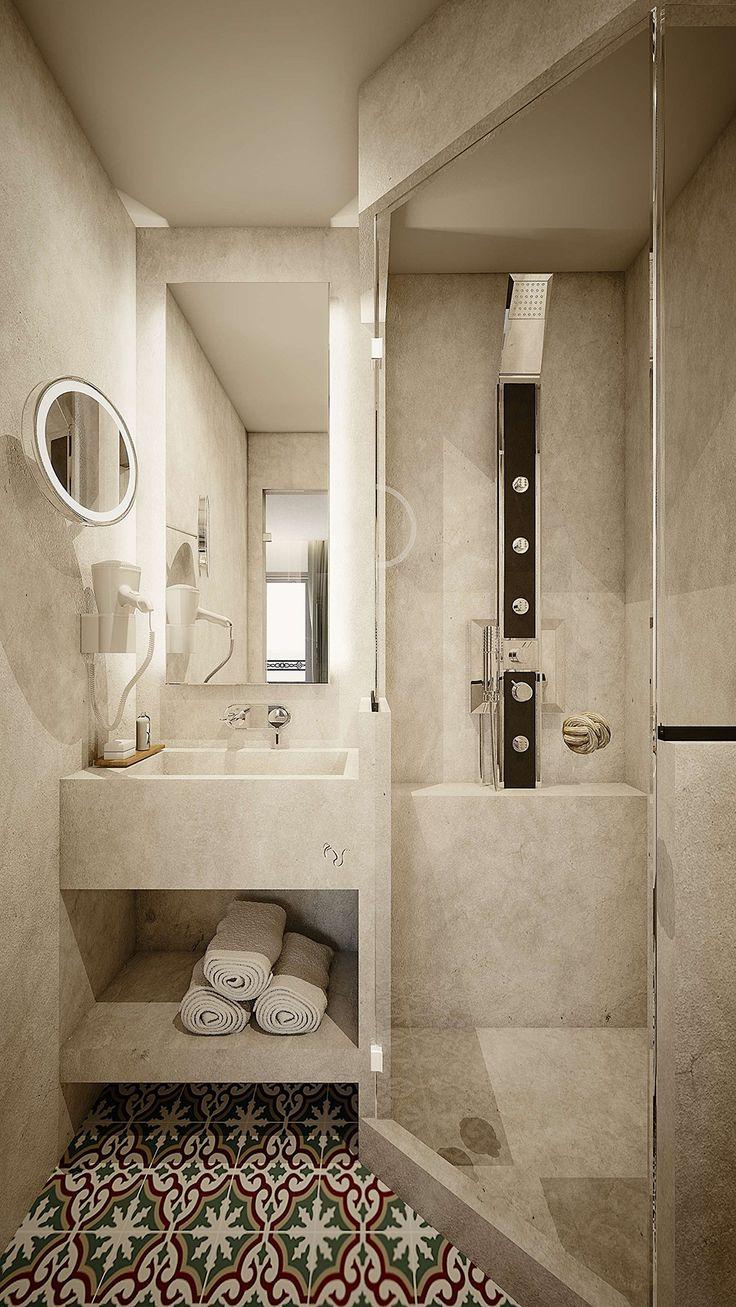 Milos Suite -  Bathroom , Elakati Luxury Boutique Hotel, Rhodes , Greece