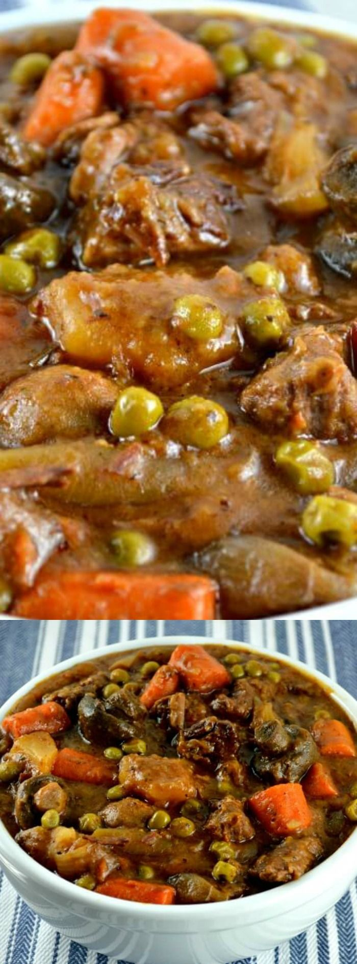 This is not just any beef stew… this is THE BEST Easy Crock Pot Beef Stew Recipe from Gonna Want Seconds. Look at that picture. Don't you just want to grab a spoon, fork, or whatever and just dig right in?!