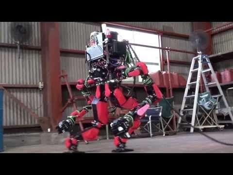 SCHAFT : DARPA Robotics Challenge 8 Tasks + Special Walking