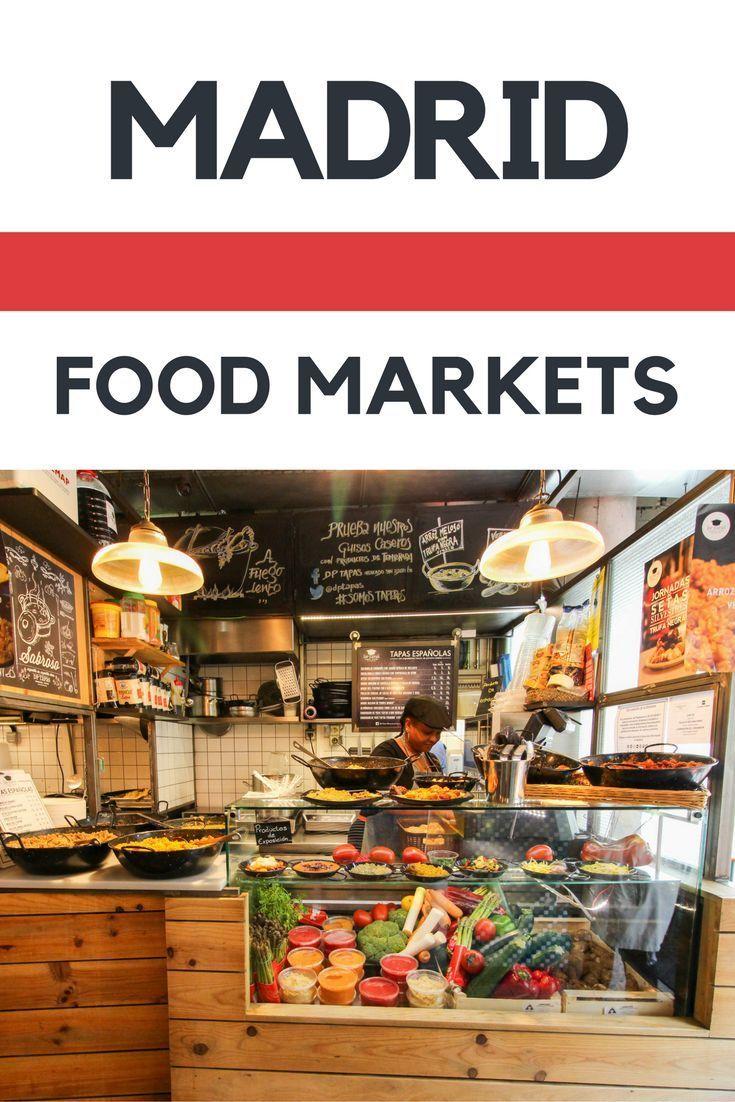 Foodie Travel: The Top 3 Madrid Food Markets | Foodie Guide | Best Markets in Madrid | Spain | Europe | Street Food #TheFoodieTravelGuide