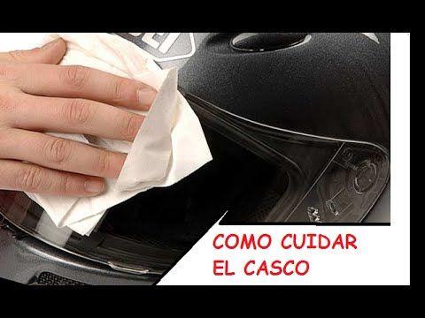 Como Cuidar el casco de tu moto !!!!!!