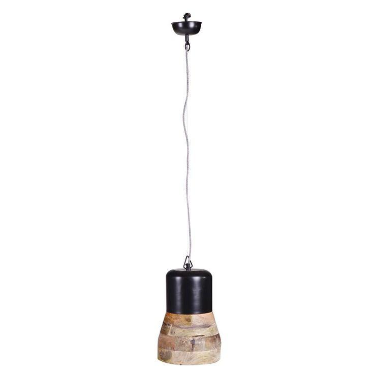 Bij de inrichting van het huis is verlichting minstens zo belangrijk als de kleur van je muren of de vloer! Met deze BePureHome hanglamp weet je zeker dat je een sfeervol licht in huis haalt. Een rustiek ontwerp, dat perfect past boven de eettafel!