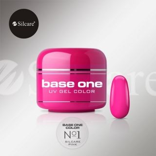 Farebný UV gél, Silcare Pink No1, 5g
