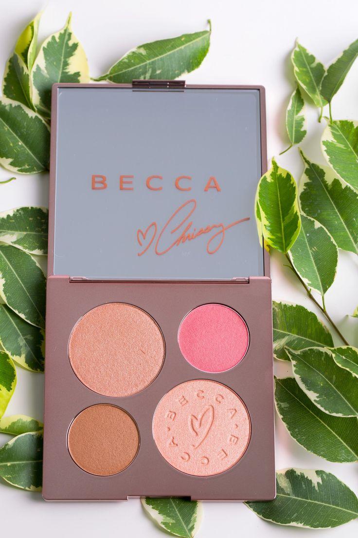 Becca x Chrissy Teigen Face palette
