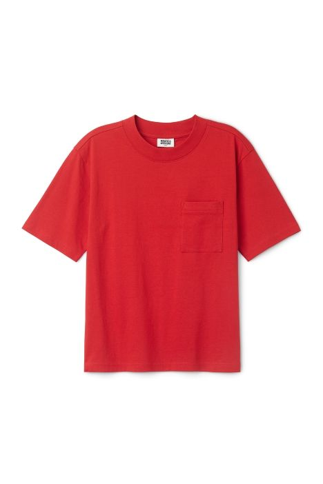 Weekday Bess T-Shirt in Red