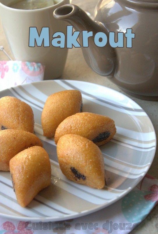 Makrout aux dattes, un gâteau oriental au miel très connu. Les Makrouts frits sont originaires de Tunisie et voici la vrai recette du makrout facile à faire