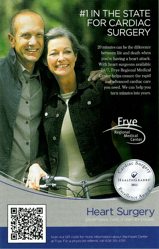Frye Regional Medical Center Print Ad - For Curiosity Seekers: More Hospital Print Ads