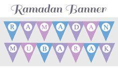 Free printable Ramadan banner