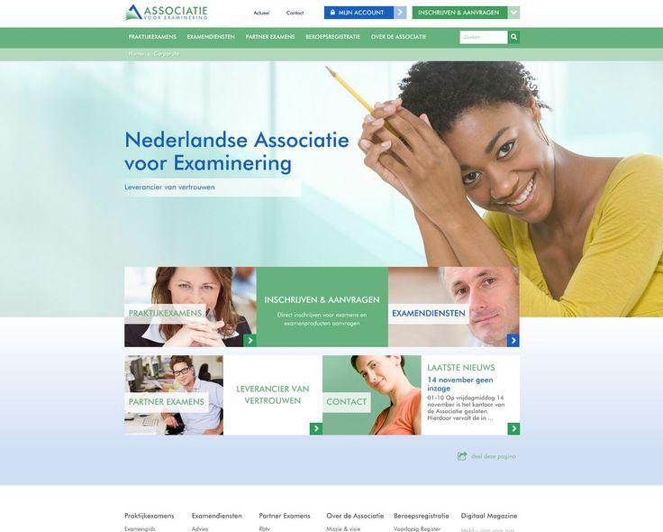 Nieuwe website, examengids en webshop voor de Nederlandse Associatie voor Examinering.