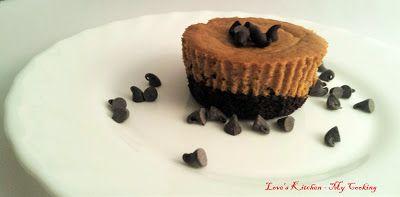 Love's Kitchen - My Cooking: Mini cheesecake de abóbora e canela