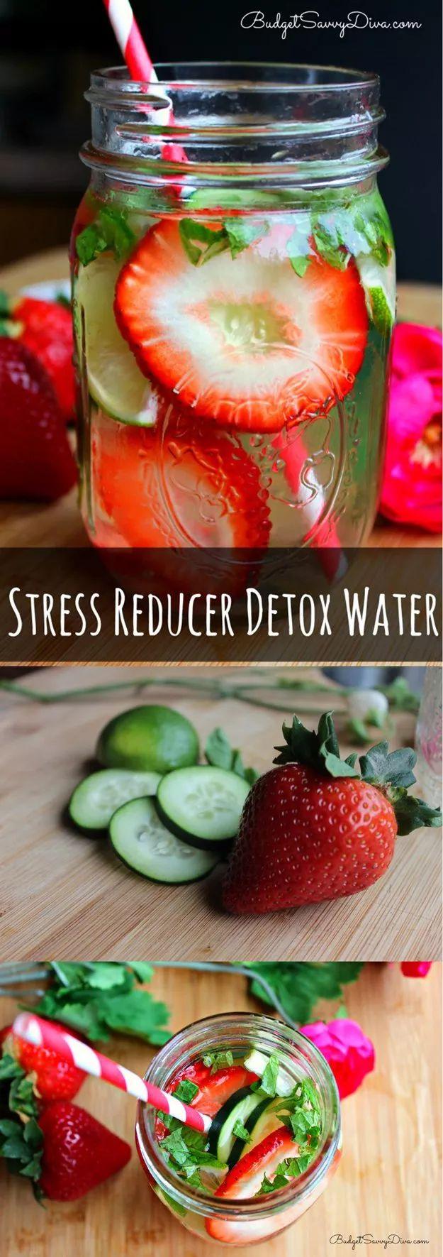 DIY STRESS REDUCER DETOX WATER